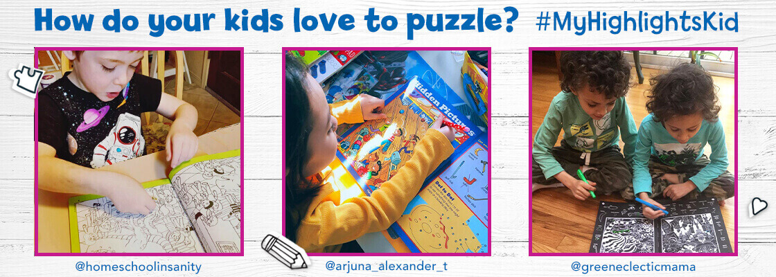 Puzzles are a fun way to boost problem-solving skills and confidence for kids of all ages.