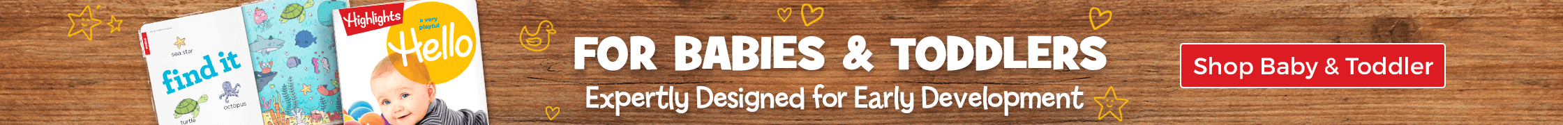Shop 25+ expertly designed baby and toddler toys for early development!