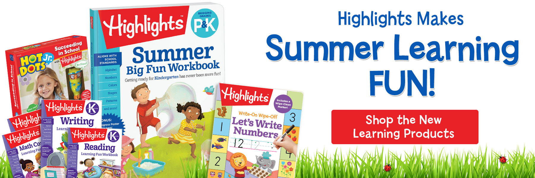 Make summer learning fun with new Highlights Learning products