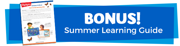 Bonus Summer Learning Guide
