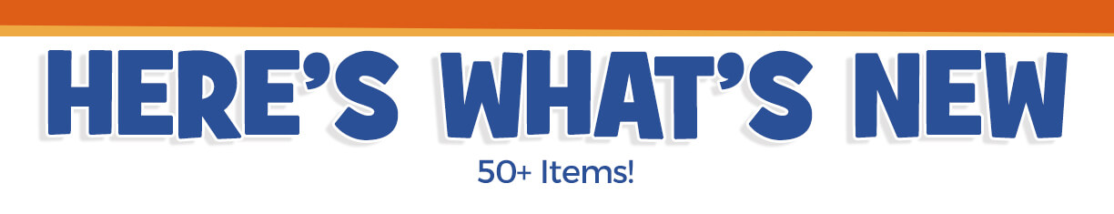 Check out our newest arrivals – more than 50 items!
