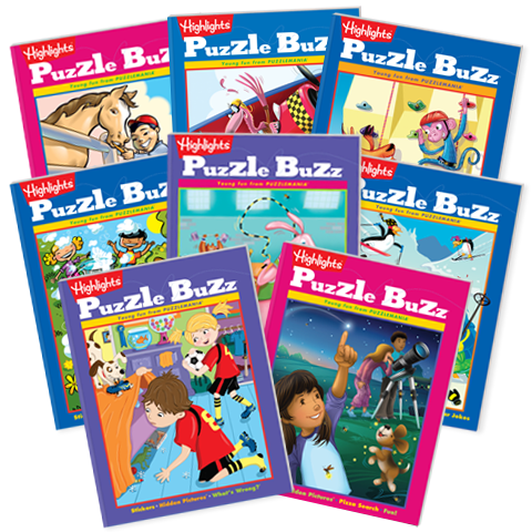 Puzzle Buzz 8-Book Set
