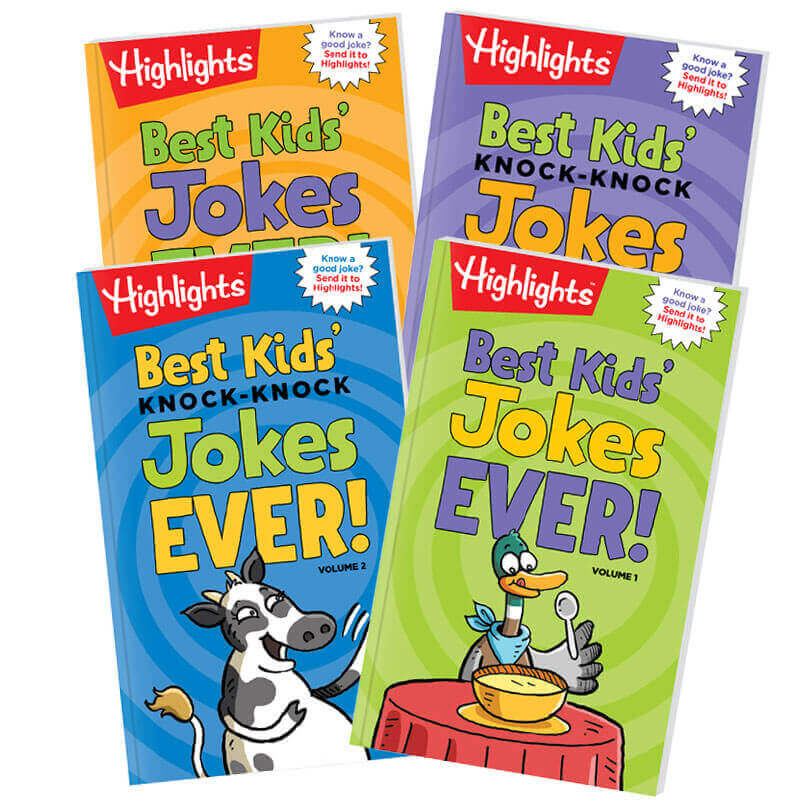 Highlights Joke Books Set of 4