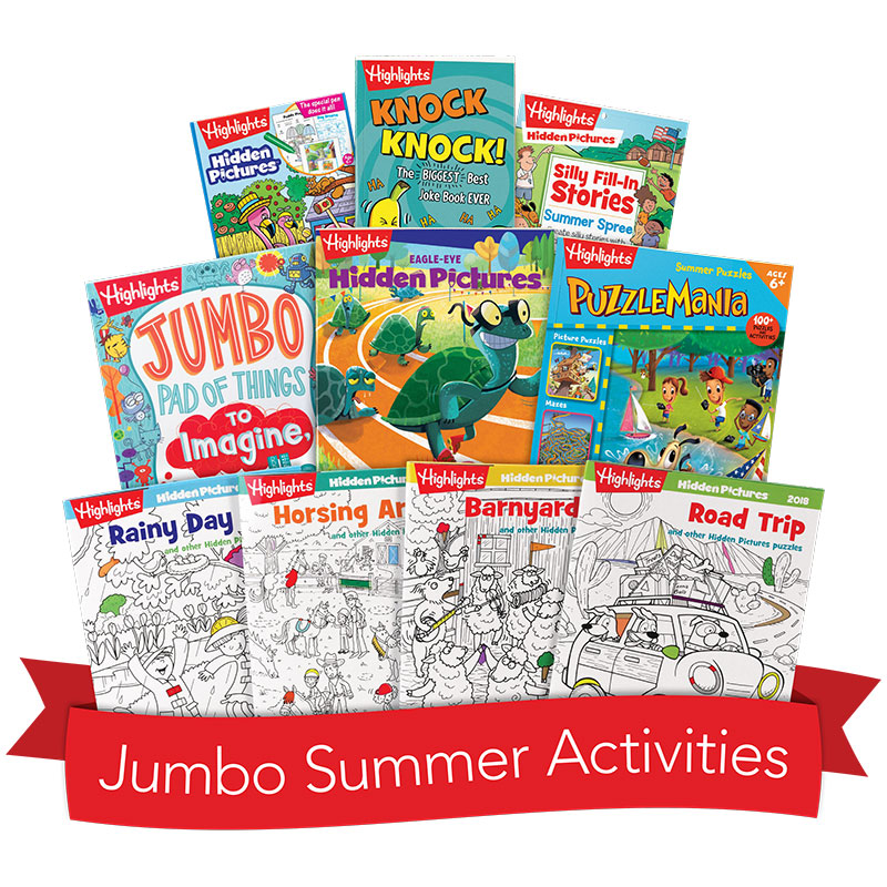 Jumbo Summer Activity Box