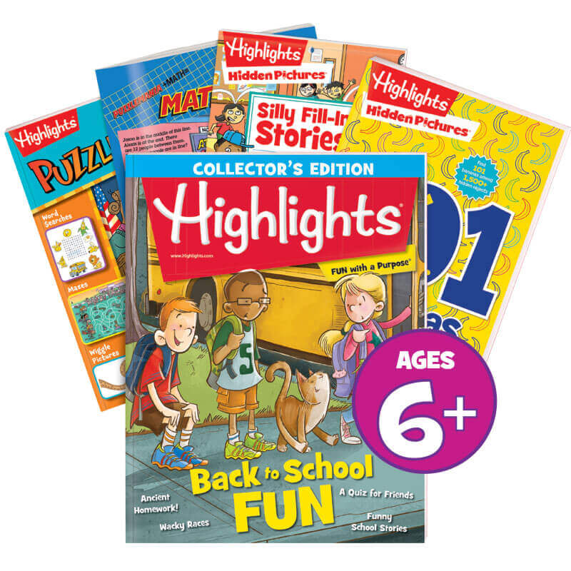 Highlights Ages 6+ Activity Pack