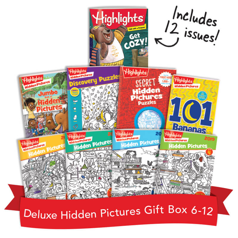 Deluxe Hidden Pictures Gift Box