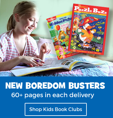 Always have new boredom busters to dig into with our Kids Book Clubs.