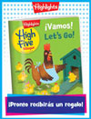 Revista High Five Bilingüe Folded Anytime Gift Announcement
