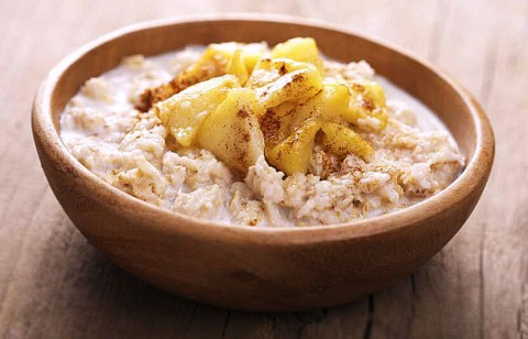 make apple pie oatmeal
