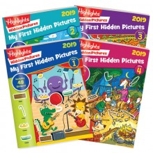 My First Hidden Pictures 2019 4-Book Set