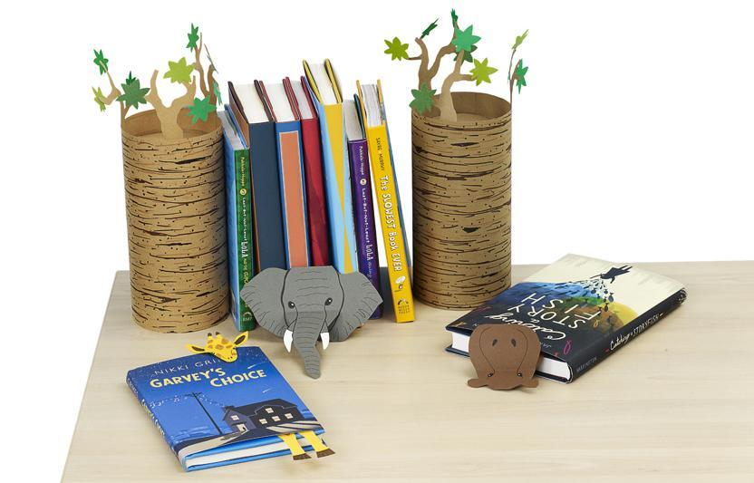 These cute (and practical) DIY desk accessories are perfect for your nature-loving kid.