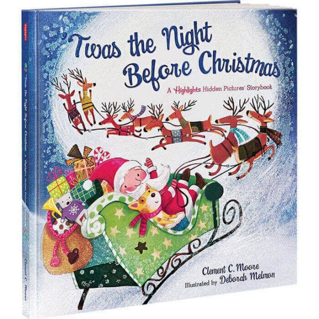 'Twas the Night Before Christmas, A Highlights Hidden Pictures Storybook