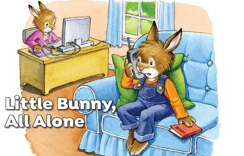 Little Bunny, All Alone