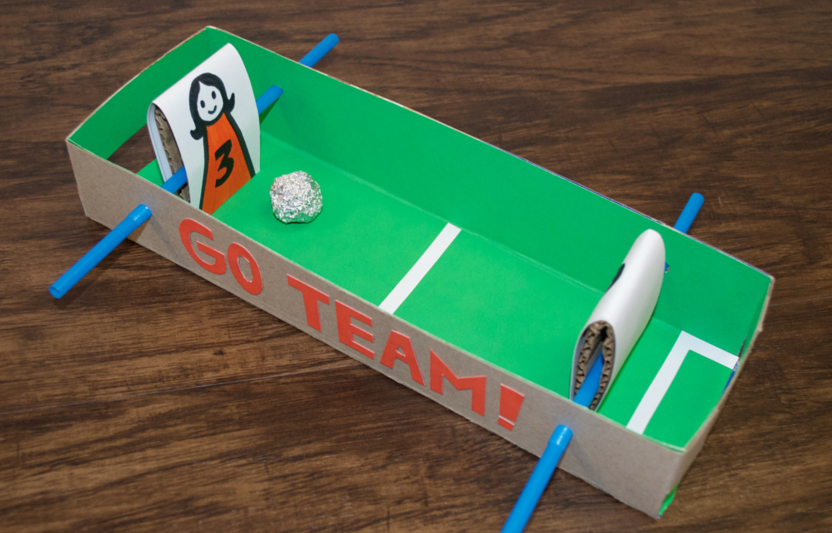 Cereal Box Soccer
