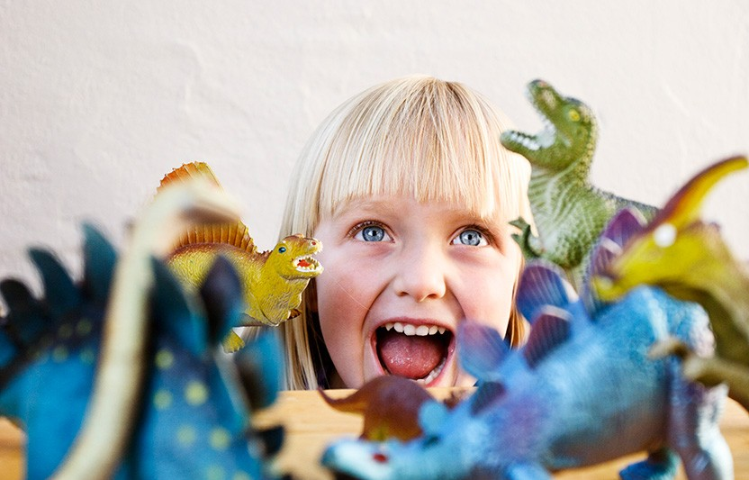 Why Preschoolers Love Dinosaurs . . .