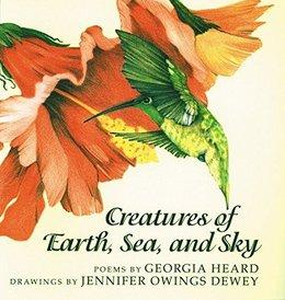 Creatures of Earth, Sea, and Sky   National Poetry Month Booklist