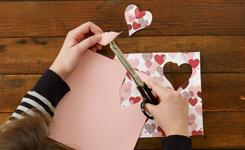 Make Cupid's-Arrow Valentines