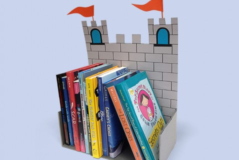 Castle Book Holder