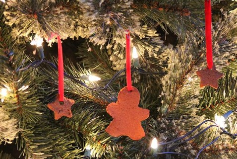 Cinnamon-Scented Ornaments