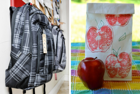 Make this new school year the best year yet with these fun organizational back to school crafts!
