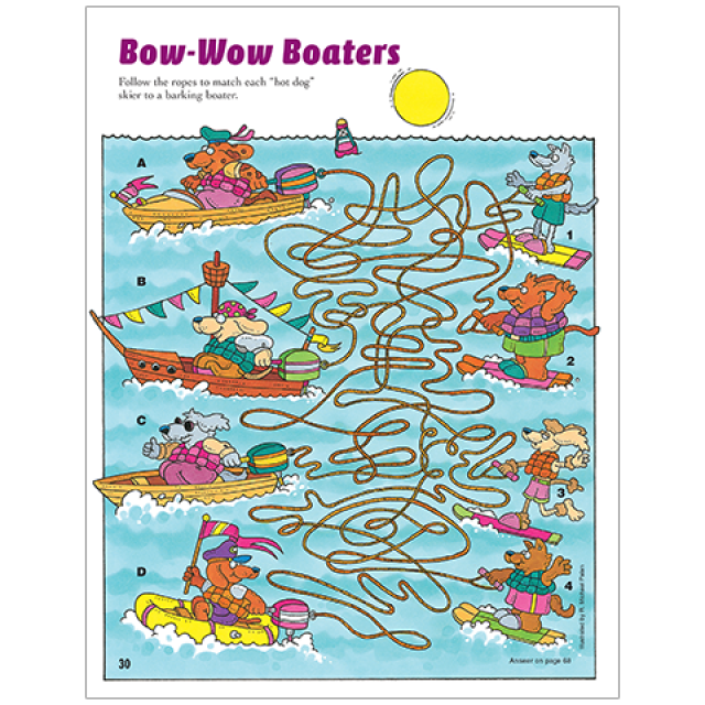 Amazing Mazes Bow-Wow Boaters