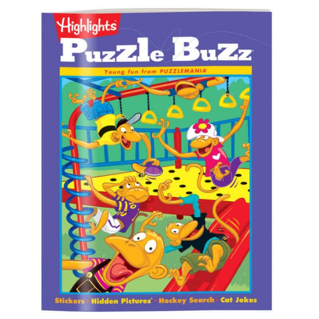 The games and activities in Puzzle Buzz™ are the fun way to reinforce skills.