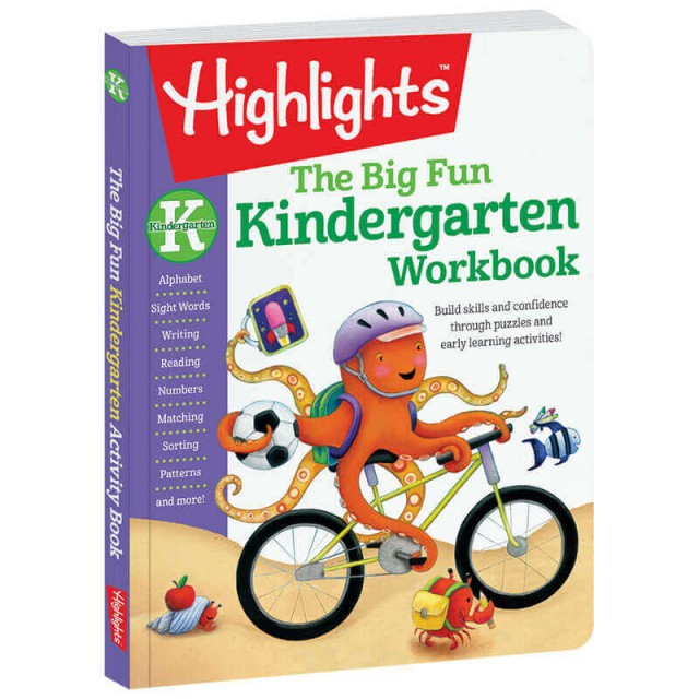 Combines imaginative puzzles, silly poems and whimsical illustrations with traditional practice activities
