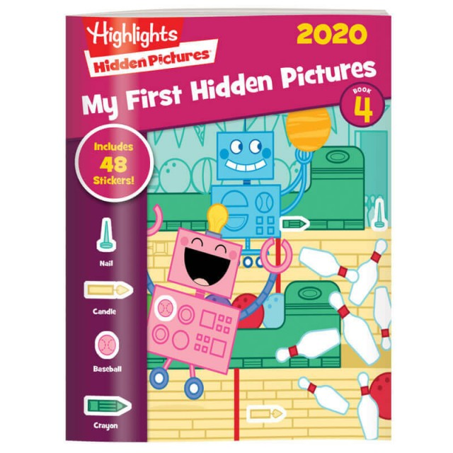 My First Hidden Pictures Page