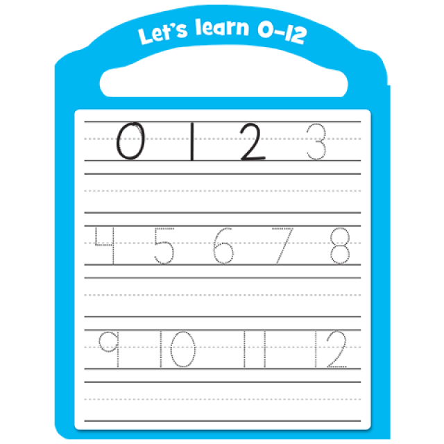 Let's learn 0-12