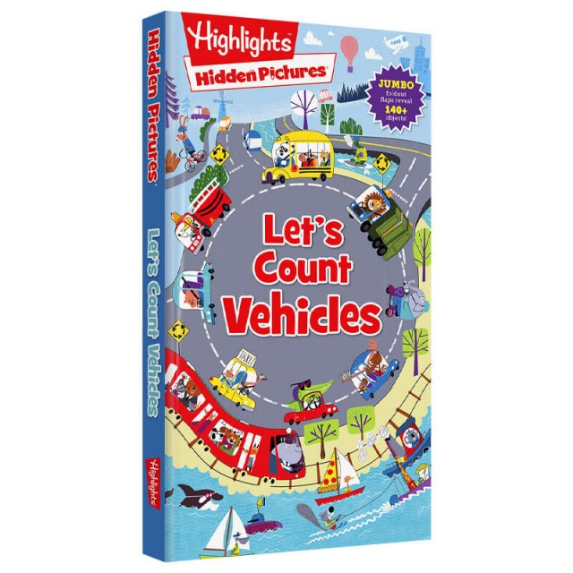 Let's Count Vehicles book