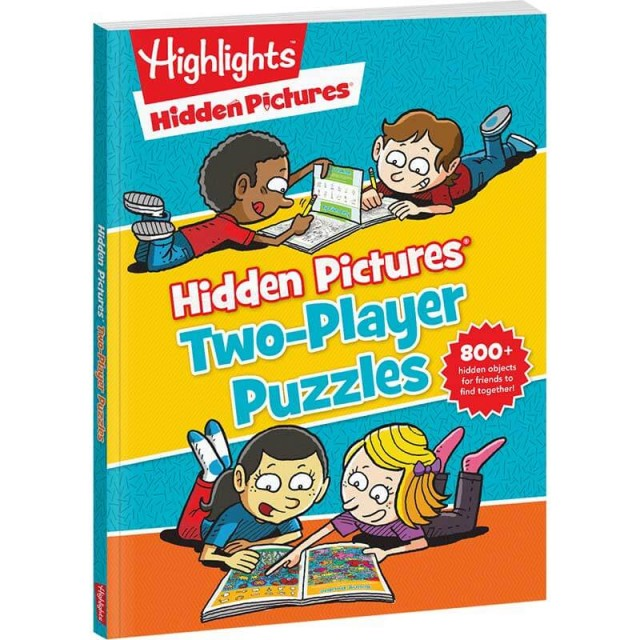 Hidden Pictures Two-Player Puzzles paperback book