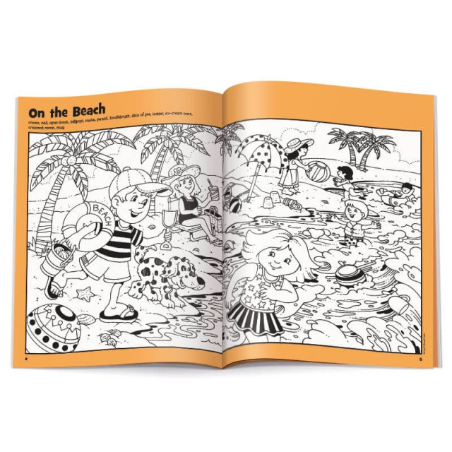 Two-page On the Beach puzzle