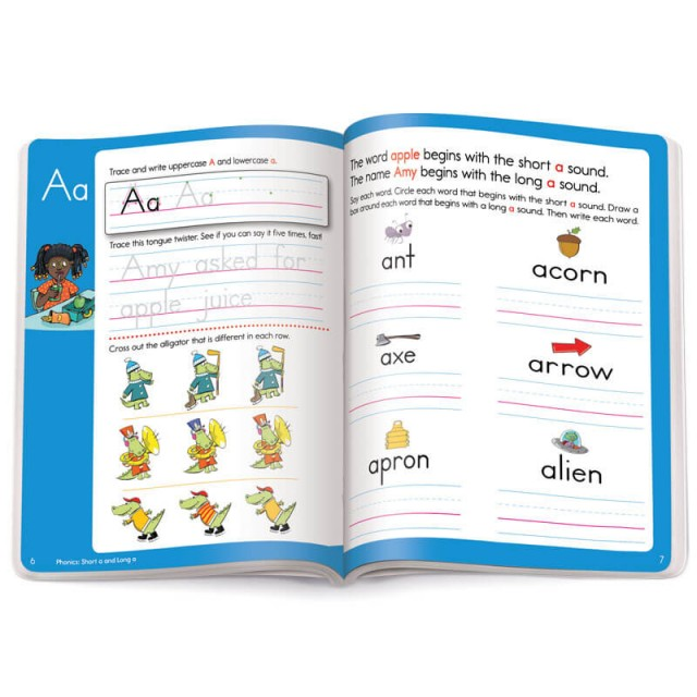 Practice for words that start with letter A