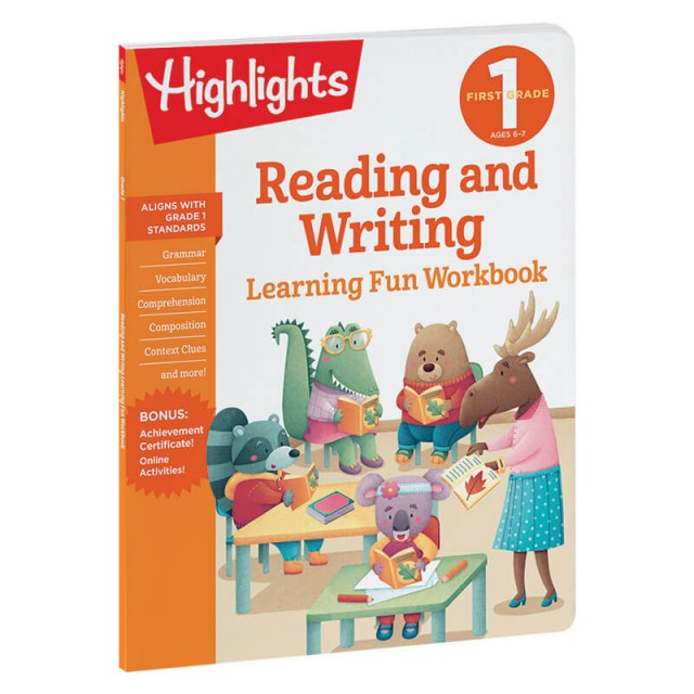 Reading and Writing workbook