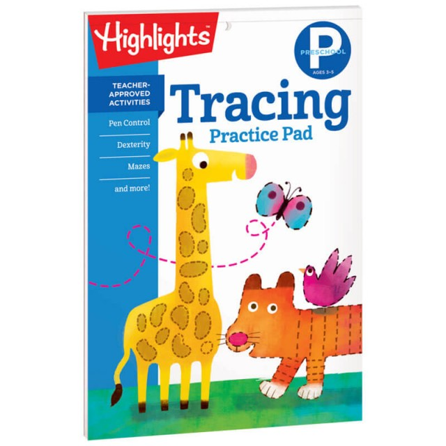 Preschool Learning Practice Pads Page 5