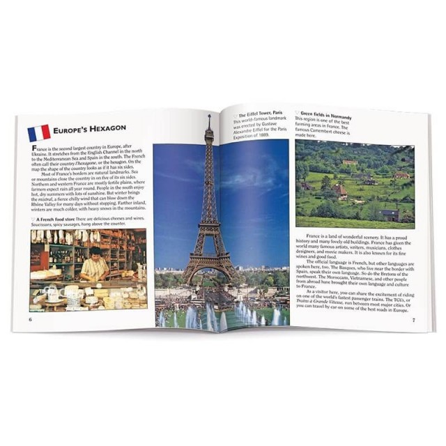 Introduction to France with photographs