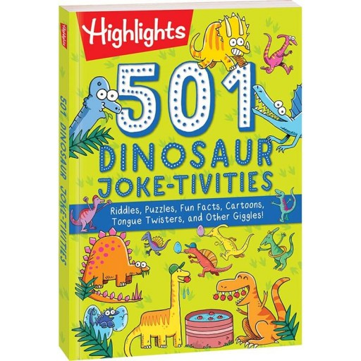 501 Dinosaur Joke-tivities book