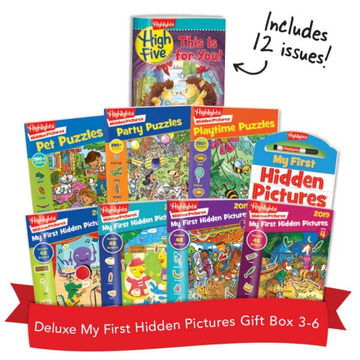 Deluxe My First Hidden Pictures Gift Box