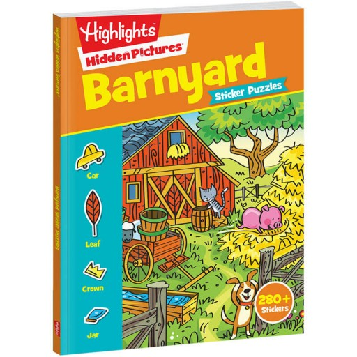 Hidden Pictures Stickers: Barnyard
