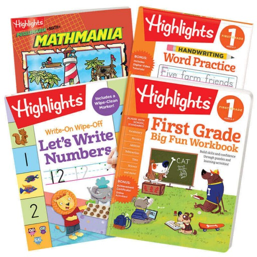 First Grade School Success Pack