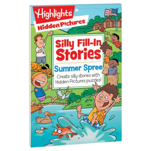 Silly Fill-In Stories: Summer Spree book