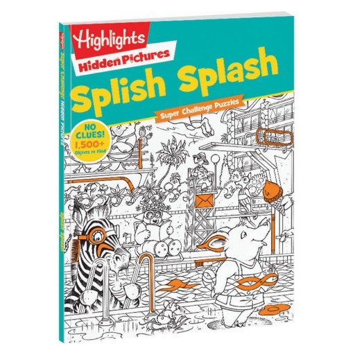 Hidden Pictures Super Challenge Puzzles: Splish Splash book