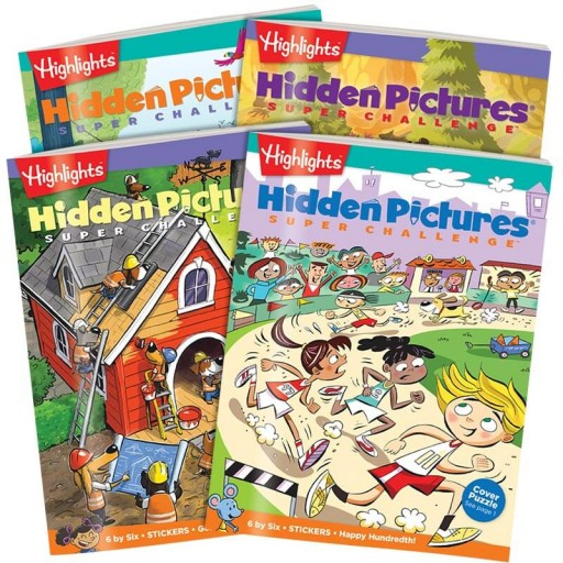 Hidden Pictures Super Challenge 4-Book Set