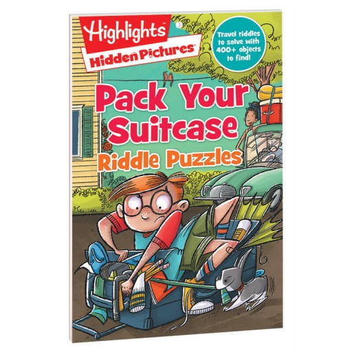 Hidden Pictures Pack Your Suitcase Riddle Puzzles book
