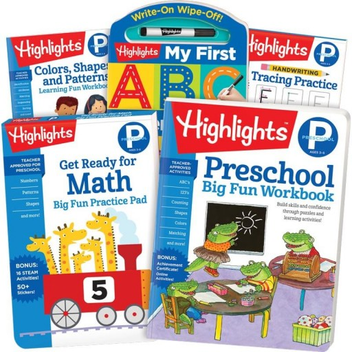 School Success Pack, Preschool, with 5 books
