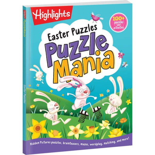 Puzzlemania Easter Puzzles book