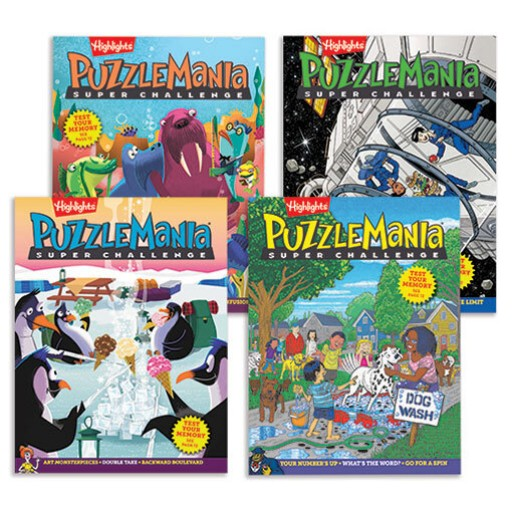 Puzzlemania Super Challenge Volume 2