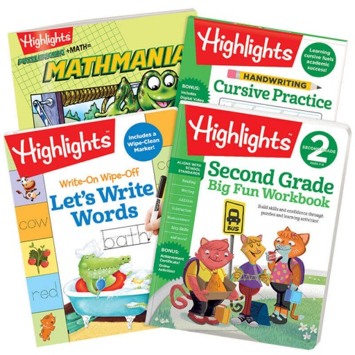 Second Grade School Success Pack
