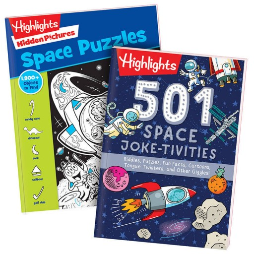 Space Set with 2 books