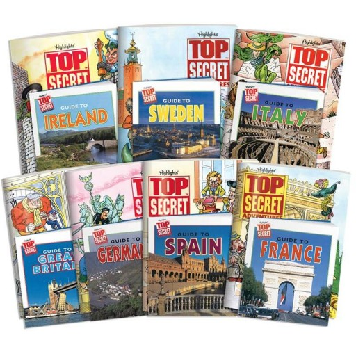 Top Secret Adventures: Western Nations Collection, includes 7 country kits